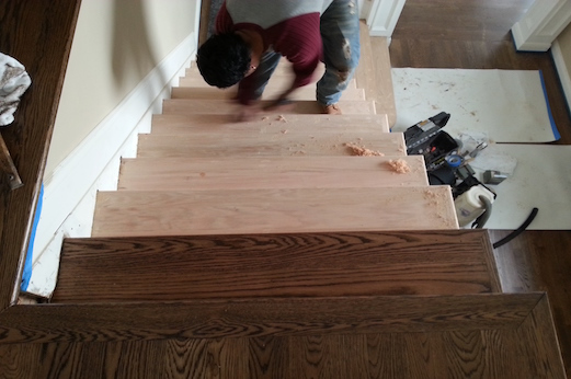 As An Alternative To Unfinished Oak Pre Finished Floors Area Budget Friendly Choice Installation Of Is Quick And Easy